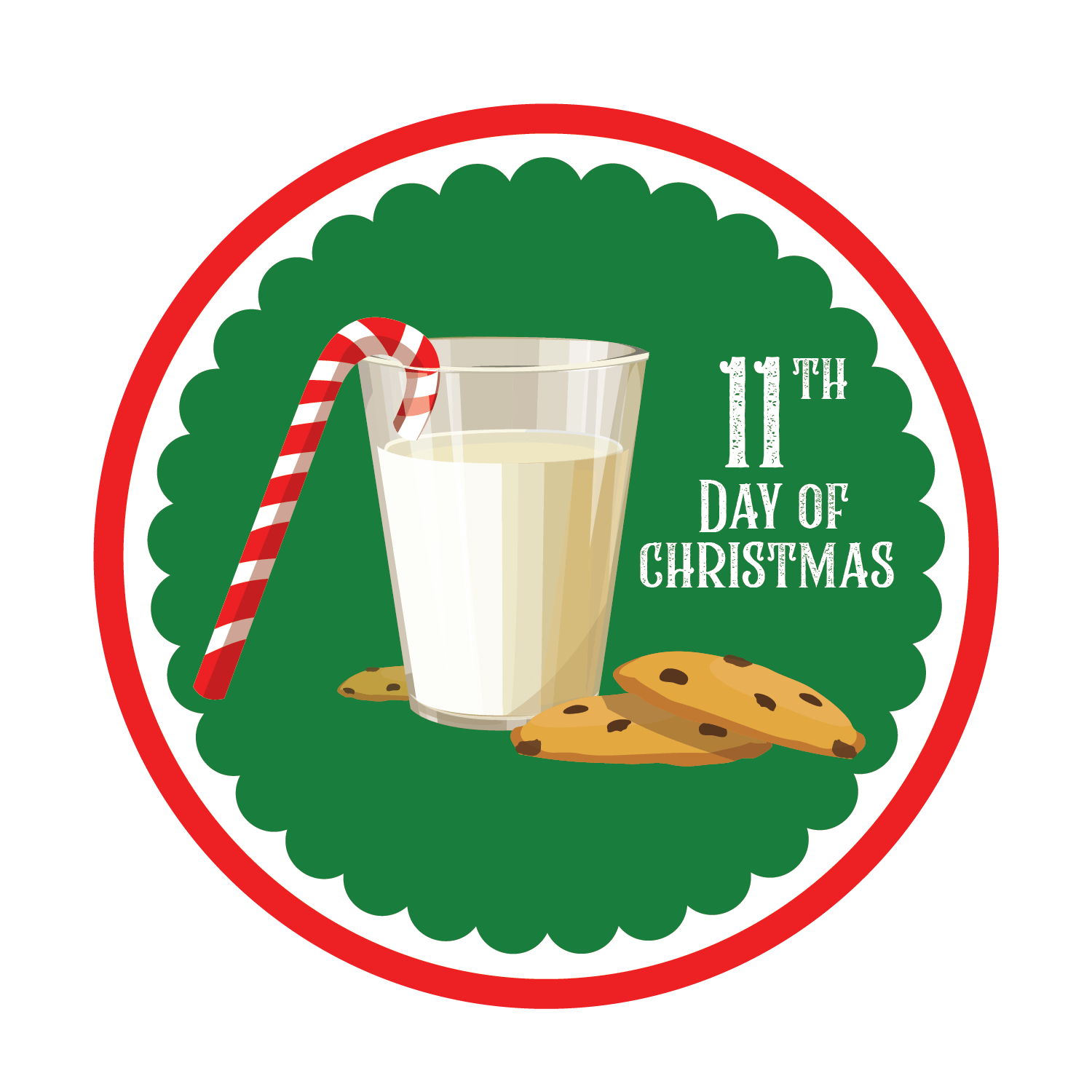11th day of Christmas graphic